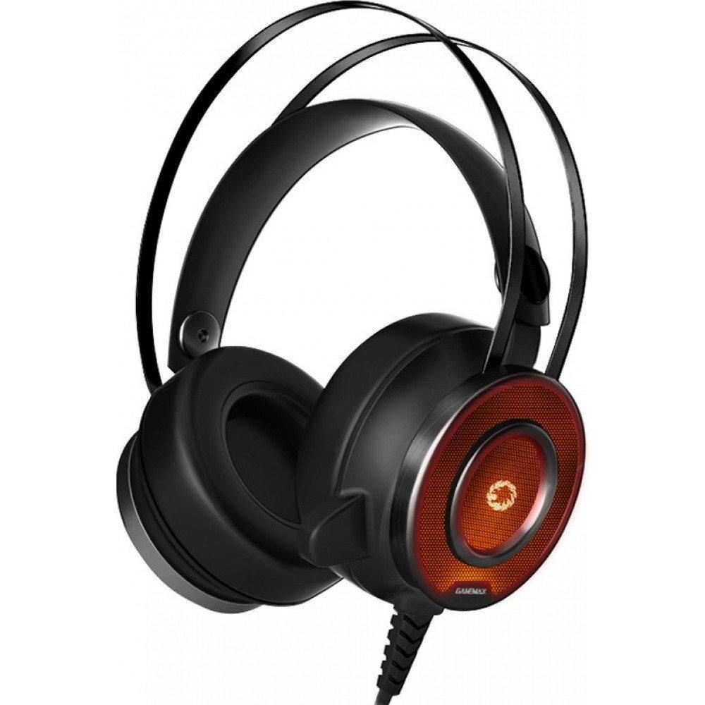 Наушники+микрофон игровые GameMax G200 Headset