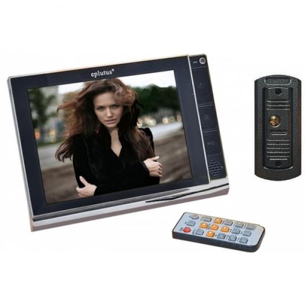 Проводной цветной видеодомофон с записью по движению Eplutus 2291