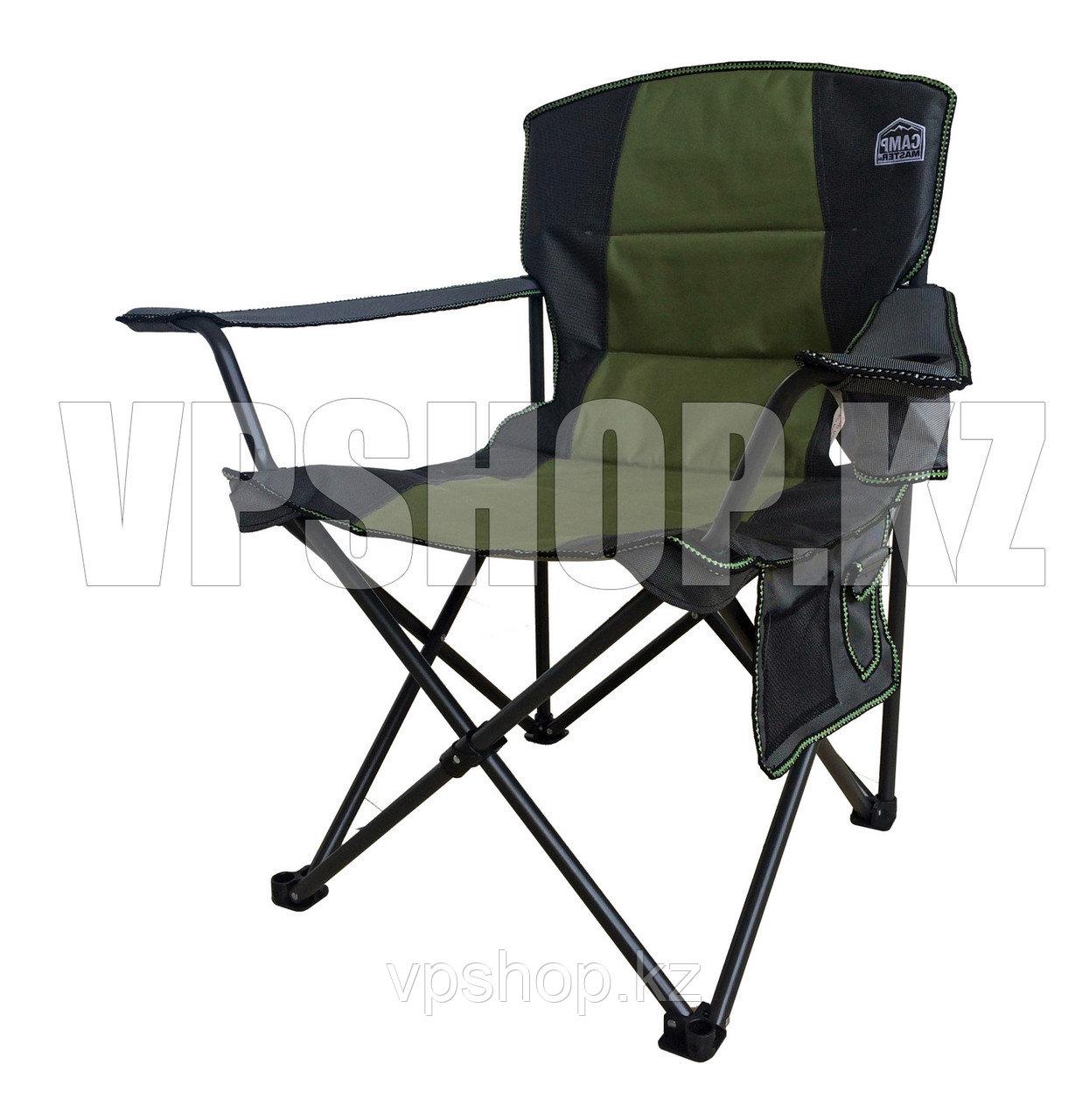 Складной стул туристический для рыбалки для похода для охоты Camp Master, доставка