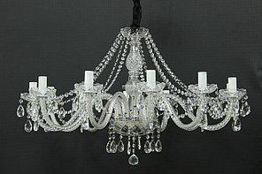 Хрустальная 12-рожковая люстра Premium-класса