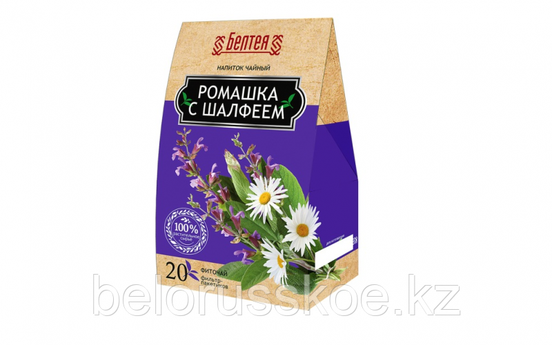 """Напиток чайный Белтея """"Фиточай Ромашка с шалфеем"""""""