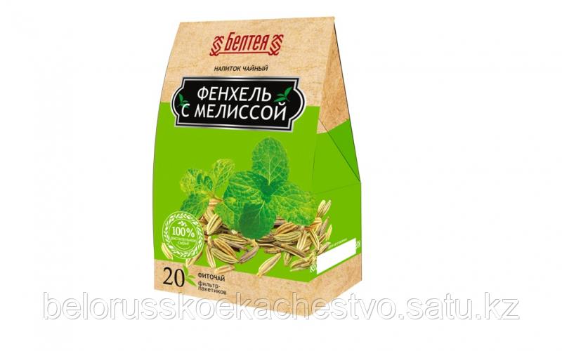 """Напиток чайный Белтея """"Фиточай Фенхель с Мелиссой"""""""