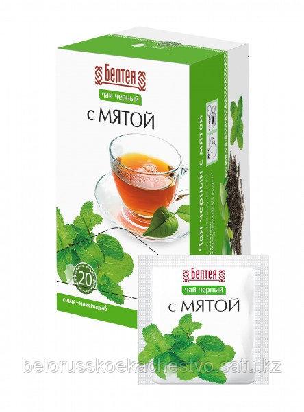 Чай черный с мятой Белтея