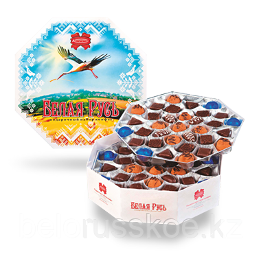 Набор конфет Коммунарка Белая Русь 635г.