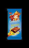 Шоколад Коммунарка Сорванец взрывная карамель вкус апельсина