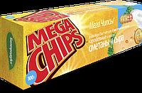 Чипсы-пластины MegaChips 100 сметана + сыр