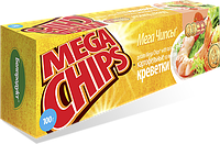 Чипсы-пластины MegaChips 100 креветка