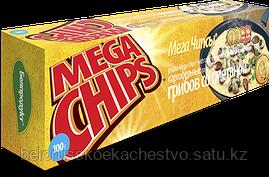 Чипсы-пластины MegaChips 200 грибы со сметаной