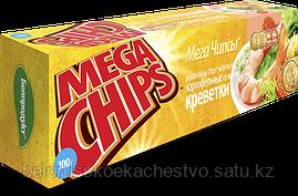 Чипсы-пластины MegaChips 200 креветка
