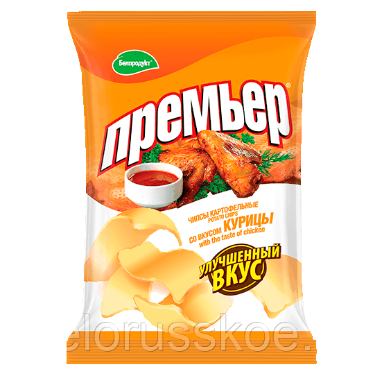 Чипсы-пеллеты Премьер курица 30 гр.
