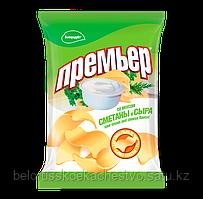 Чипсы-пеллеты Премьер сметана + сыр 70 гр.