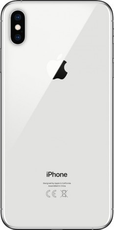 Смартфон iPhone XS MAX 256Gb Silver - фото 2