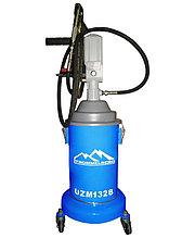 Солидолонагнетатель с пневматическим насосом 13 кг, TROMMELBERG