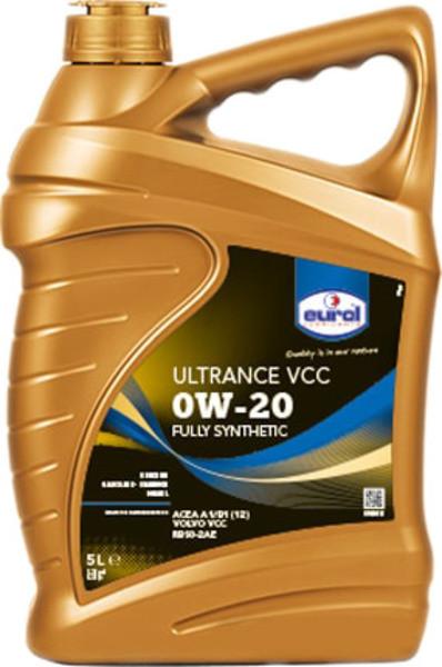 Моторное масло Eurol Evolence 0W-20 5L синтетическое