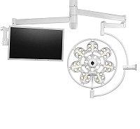 Светильник - лампа медицинская операционная потолочная ЭМАЛЕД 500/Х с консолью для монитора