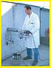 Электрическая буровая установка с вакуумным креплением для бетона