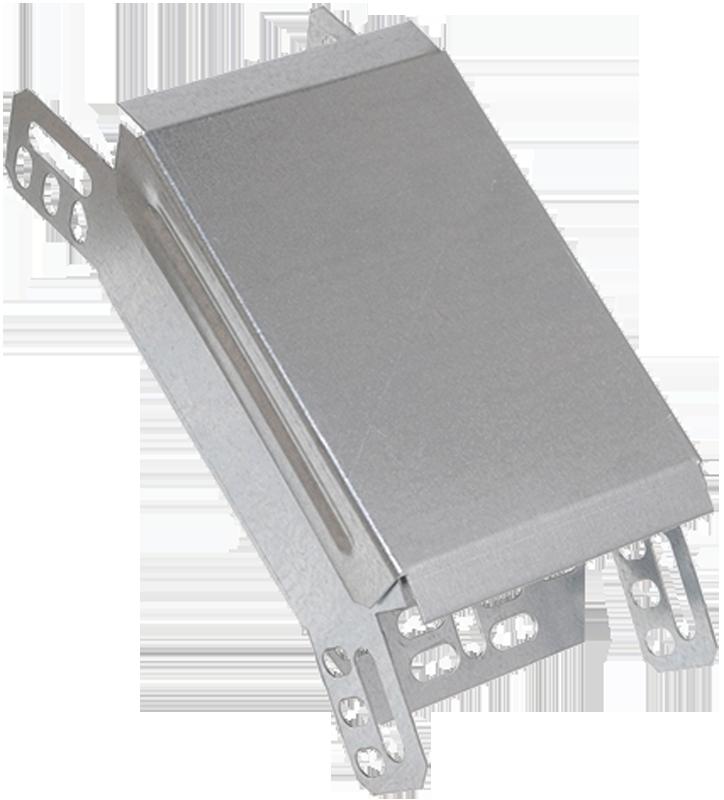 Поворот на 45 гр. вертикальный внутренний 80х300 IEK HDZ