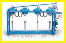 Автоматическая 4-х камерная установка для водопроницаемости бетона