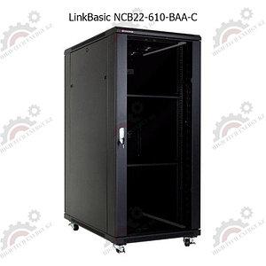 """Шкаф телекоммуникационный 19"""" LinkBasic напольный  22U, 600*1000*1200"""