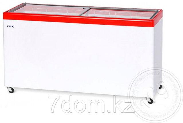 Морозильный ларь Снеж МЛП-600, красный, фото 2