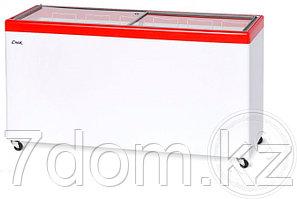 Морозильный ларь Снеж МЛП-600, красный