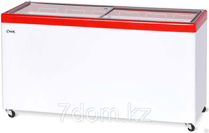 Морозильный ларь Снеж МЛП-500, красный, фото 2