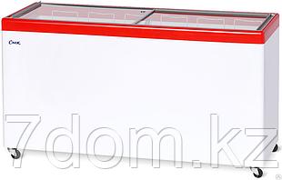 Морозильный ларь Снеж МЛП-500, красный