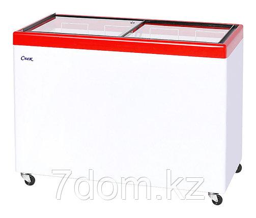 Морозильный ларь Снеж МЛП-400, красный, фото 2