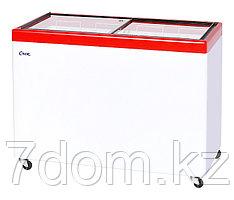 Морозильный ларь Снеж МЛП-400, красный