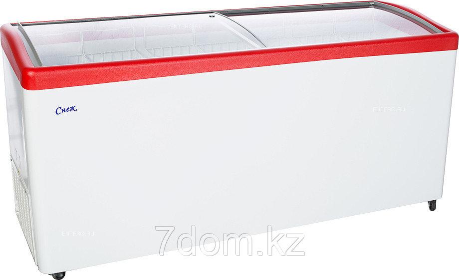 Морозильный ларь Снеж МЛГ-700, красный
