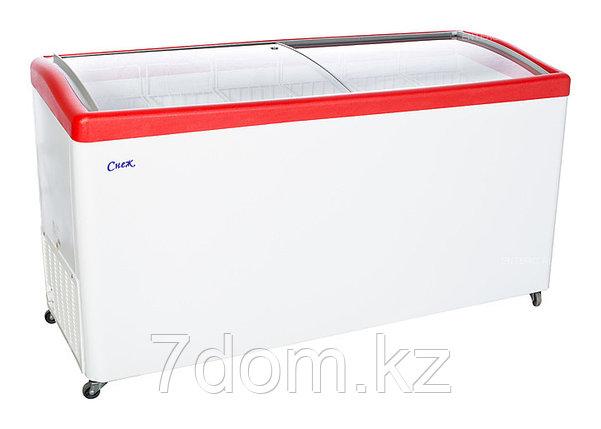 Морозильный ларь Снеж МЛГ-600, красный, фото 2