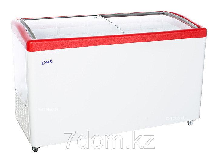 Морозильный ларь Снеж МЛГ-500, красный