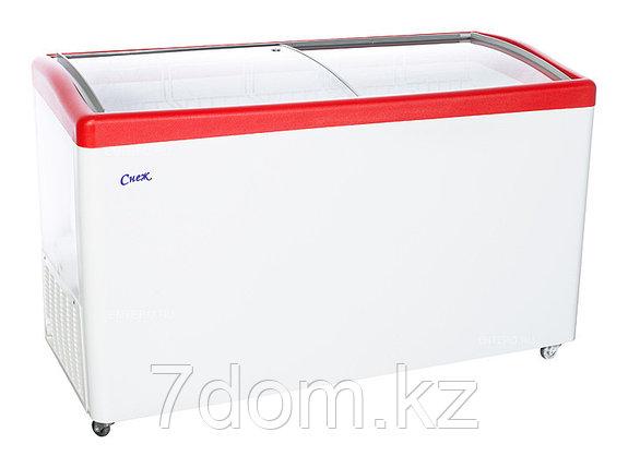 Морозильный ларь Снеж МЛГ-500, красный, фото 2