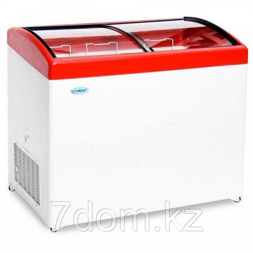 Морозильный ларь Снеж МЛГ-400, красный