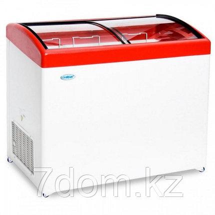 Морозильный ларь Снеж МЛГ-400, красный, фото 2