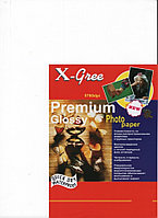 Фотобумага X-GREE 53W200-А5-100 Глянцевая Премиум А5/100/200гр