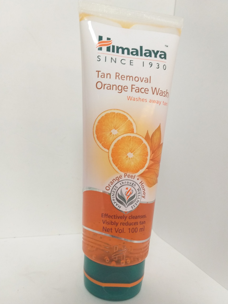 Апельсиновый гель для умывания,Хималая,Tan Removal Orange Face Wash HIMALAYA, 100 мл