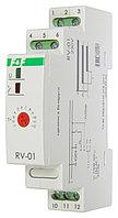 RV-01 Реле времени, C задержкой включения. Напряжение 230 В; 50 Гц, Выдержка времени 0,1 сек. – 24 суток, 8А