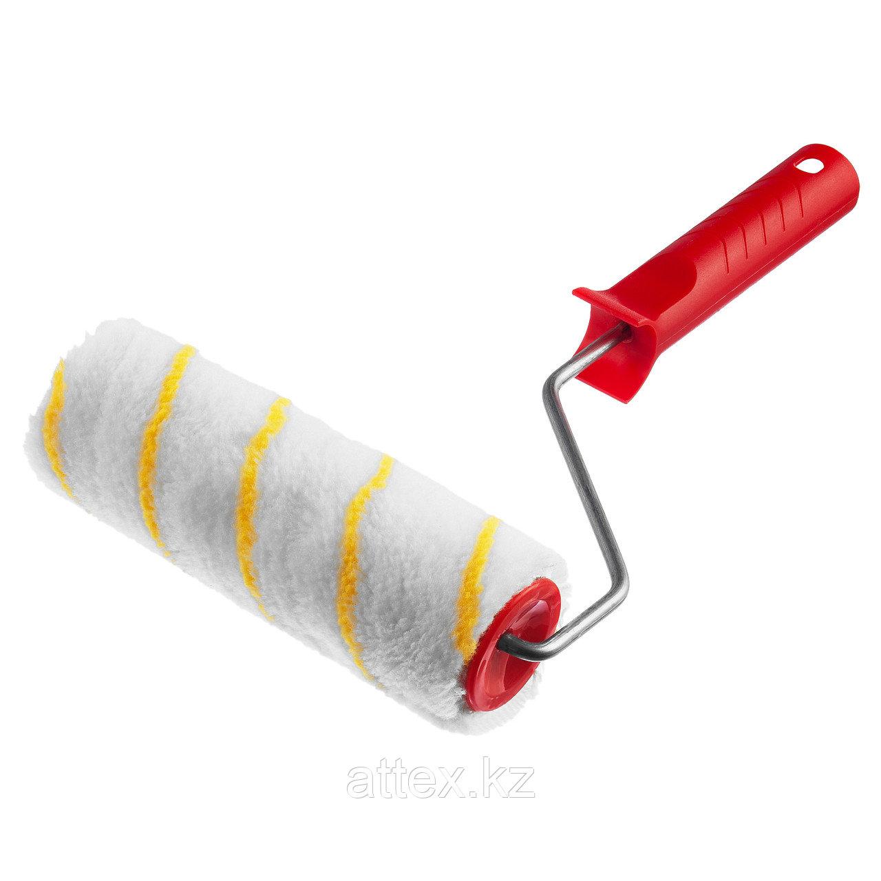 Валик малярный POLYTEX, 180 мм, d=40 мм, ворс 12 мм, ручка d=6 мм, MIRAX