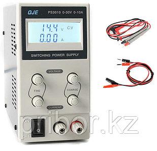 Импульсный одноканальный источник постоянного напряжения (30 В, 10 А) PS3010