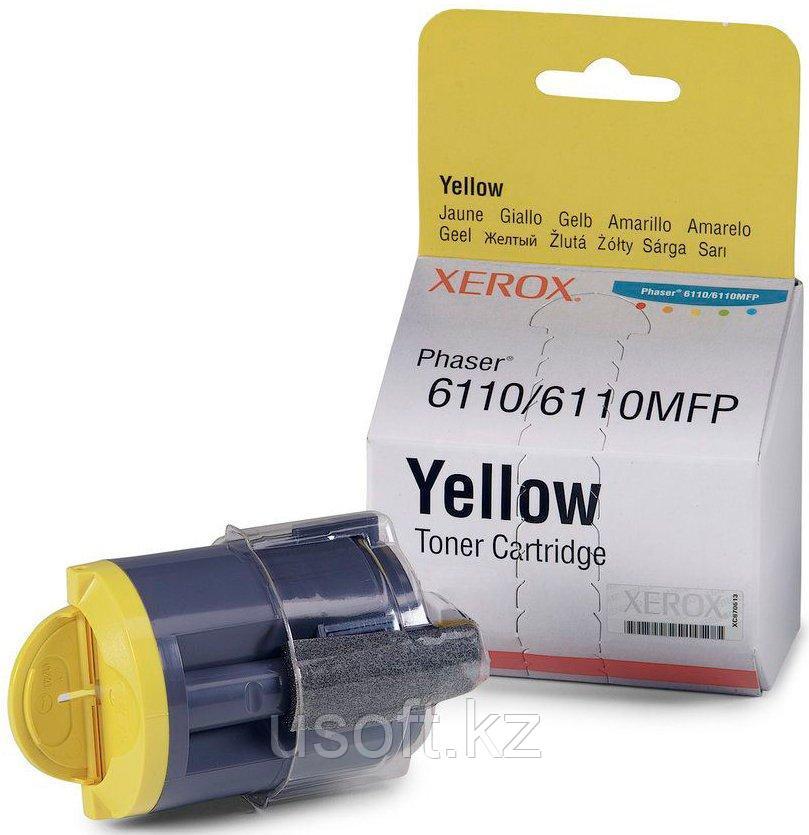 PC/WCC. 6110 ТОНЕР-КАРТРИДЖ Yellow (1k) (106R01204)