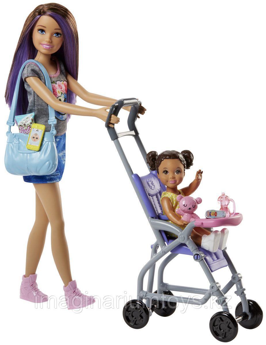 Кукла Барби Няня в игровом наборе