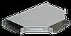 Разветвитель Т-образный 50х100 RAL 9016 (глянец)