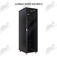 """Шкаф телекоммуникационный 19"""" LinkBasic напольный 42U, 600*1000*2000, фото 1"""