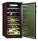 Шкаф винный Pozis ШВ-52, Тип открывания: Дверца стеклянная тонированная для защиты от УФ-лучей, Объем: До 65 б, фото 2