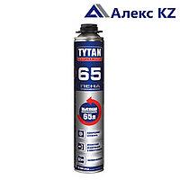 Пена монтажная TYTAN профессиональная , 65 литров, 750 мл.