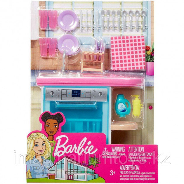 """Игровой набор Barbie Мебель для кукол """"Посудомоечная машина"""""""