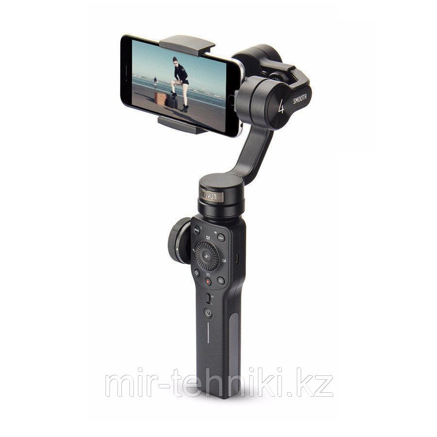 Электронный стабилизатор Zhiyun-Tech Smooth-4 Smartphone Gimbal (Black)