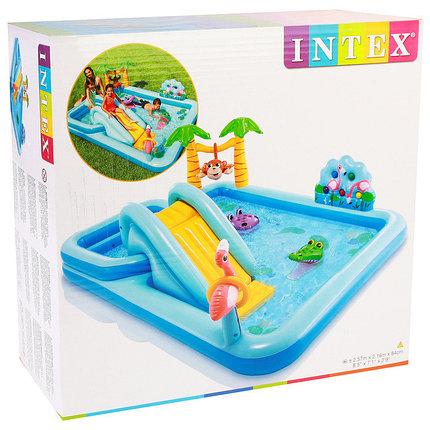 Игровой центр «Приключения в джунглях» Intex 57161NP (Габариты: 257х216х84 см ), фото 2