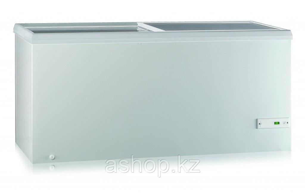 Морозильный ларь Pozis FH-258, Тип открывания: Крышка, Объем: 473 л, Крышка: Прямая стеклянная, Камер: 1, Комп